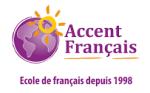 Accent Francais sign